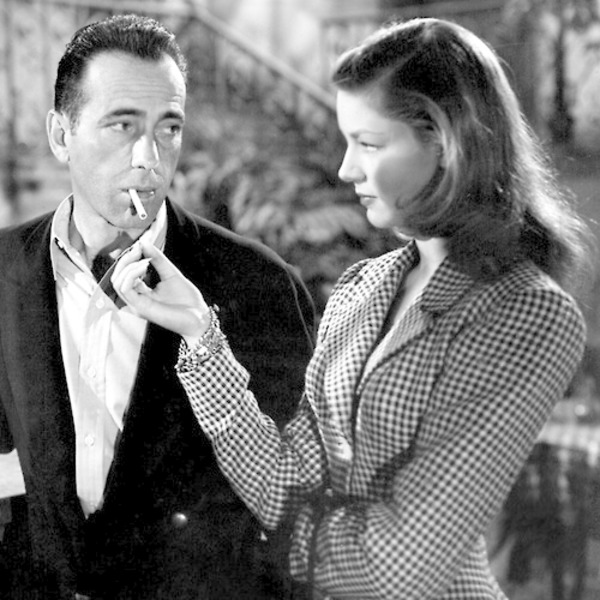Bold Venture (27)  Humphrey Bogart and Lauren Bacall - Camellias And A Ruby (128-44)