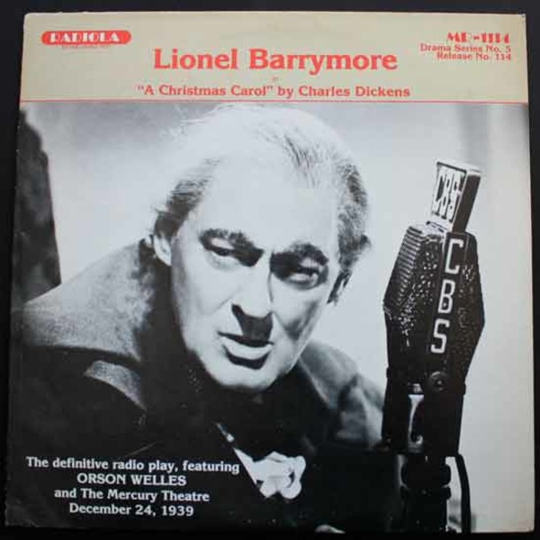 Orson Welles Podcast - Campbell Playhouse 1939-12-24 (42) Lionel Barrymore - A Christmas Carol