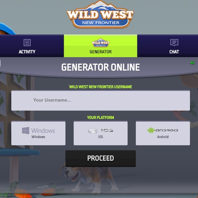 Wild West New Frontier Hack Generator No Survey