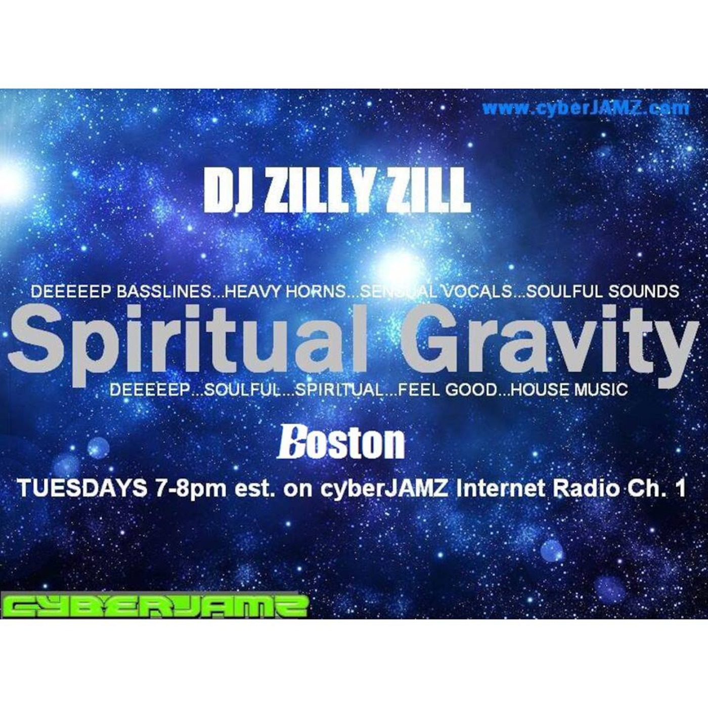 Spiritual Gravity Boston w/ DJ Zilly Zill