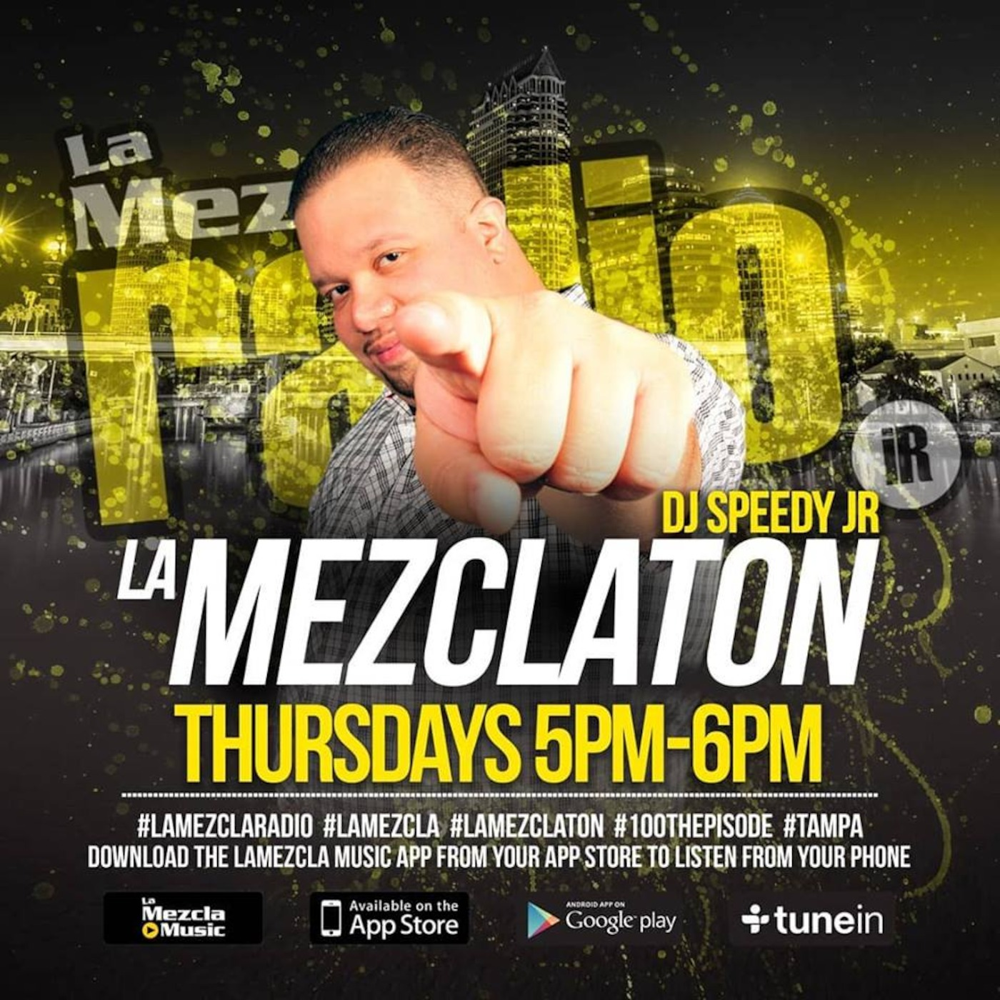 La Mezclaton 121 Reggaeton / Latin Podcast Speedy Junior's