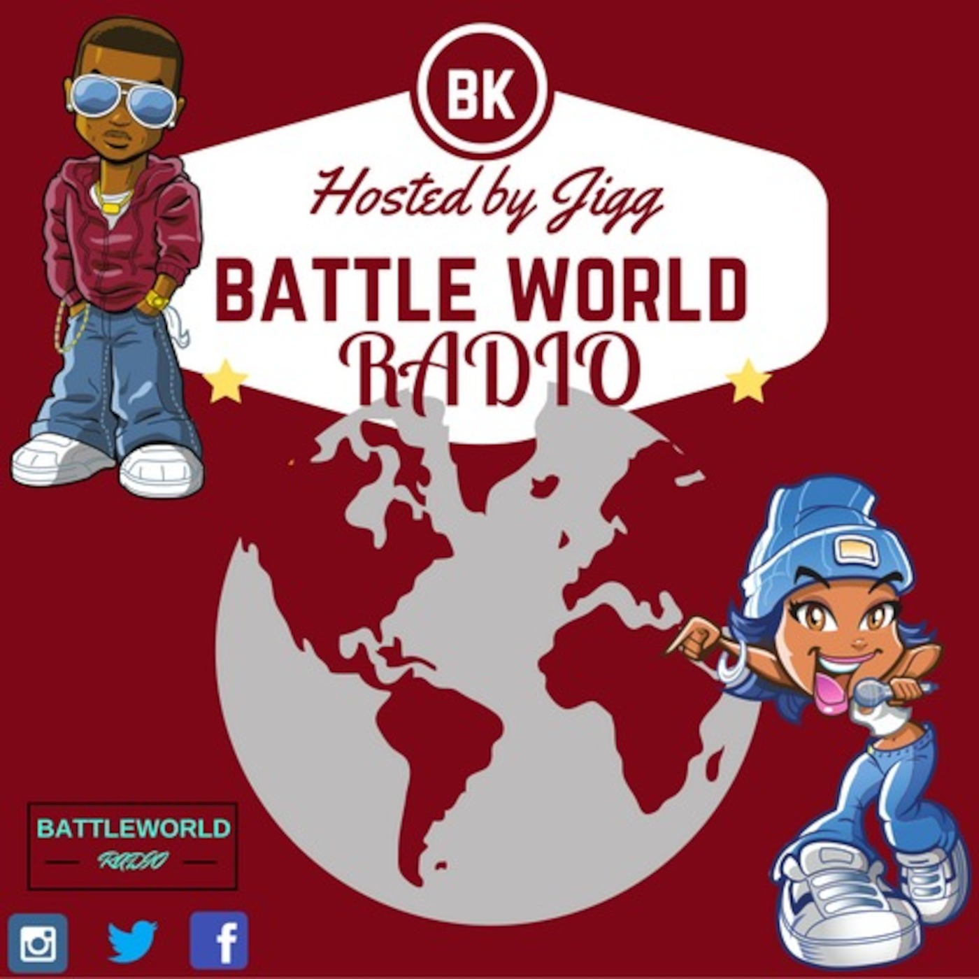 Tay Roc Vs Rum Nitty  Battleworldradio