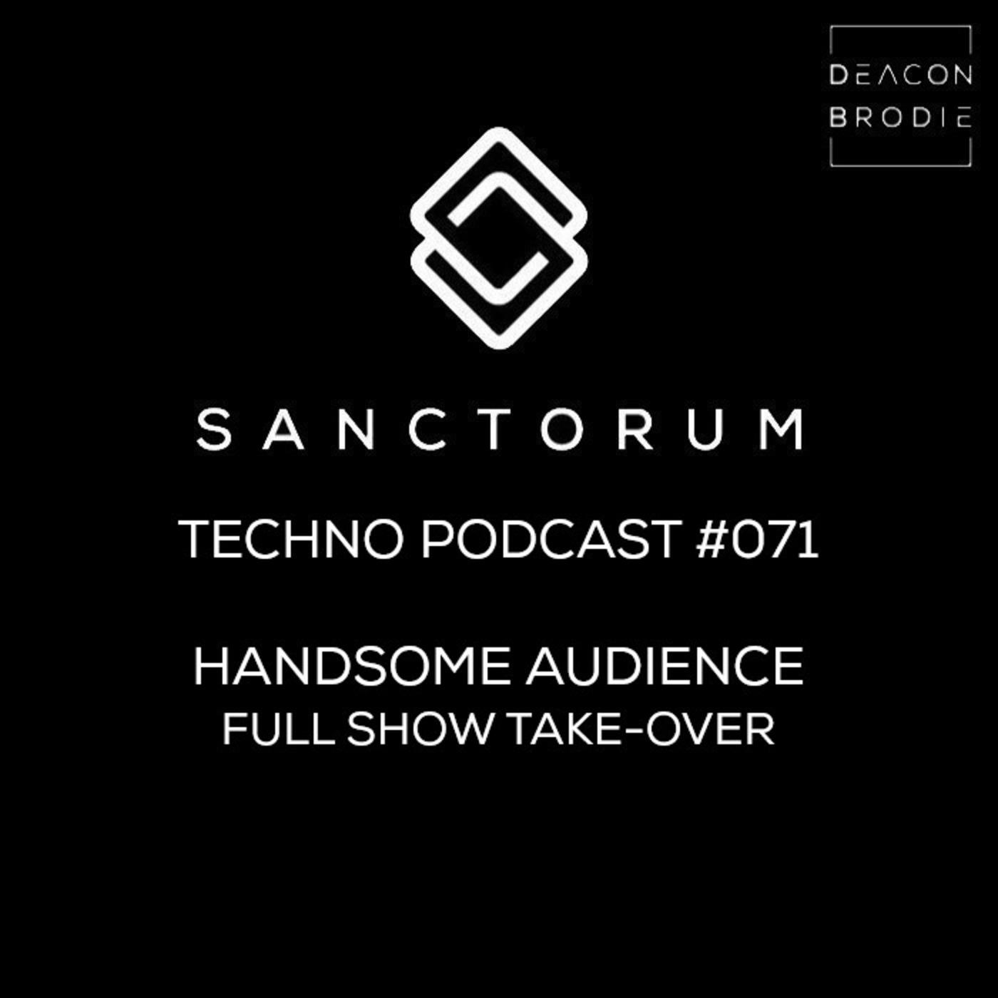 Sanctorum Techno Podcast #071 Handsome Audience Sanctorum