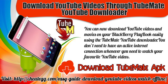 Download YouTube Videos Through TubeMate YouTube Downloader | Free