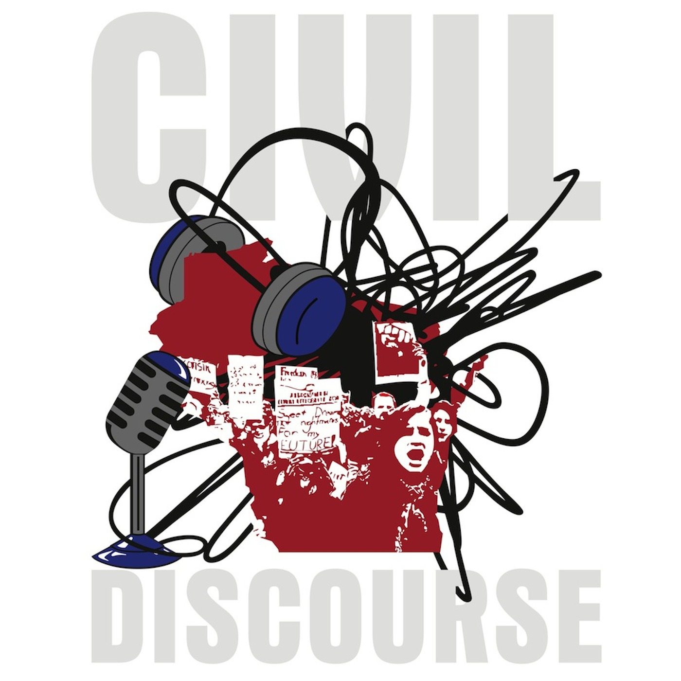 Civil Discourse | Progressive Radio; Grassroots media; current events; history; Democrat views; Republican views; liberal; conservative