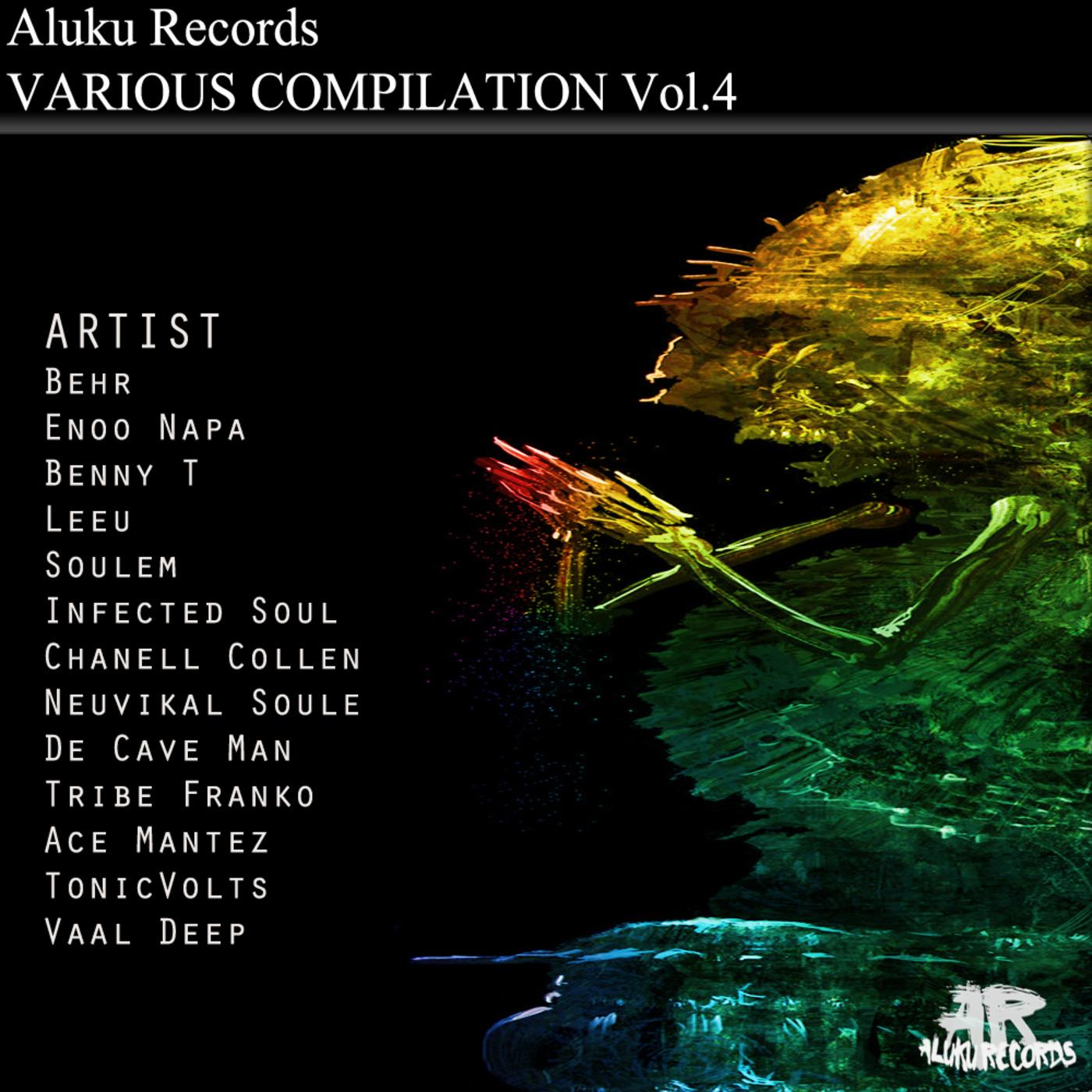 Aluku Records Various pilation Vol4 Promo Mix By Aluku Rebels
