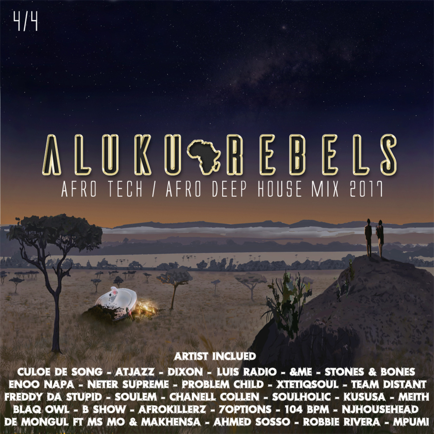 The Crash On Kwazulu Land By Aluku Rebels (Afro Tech/Afro Deep House