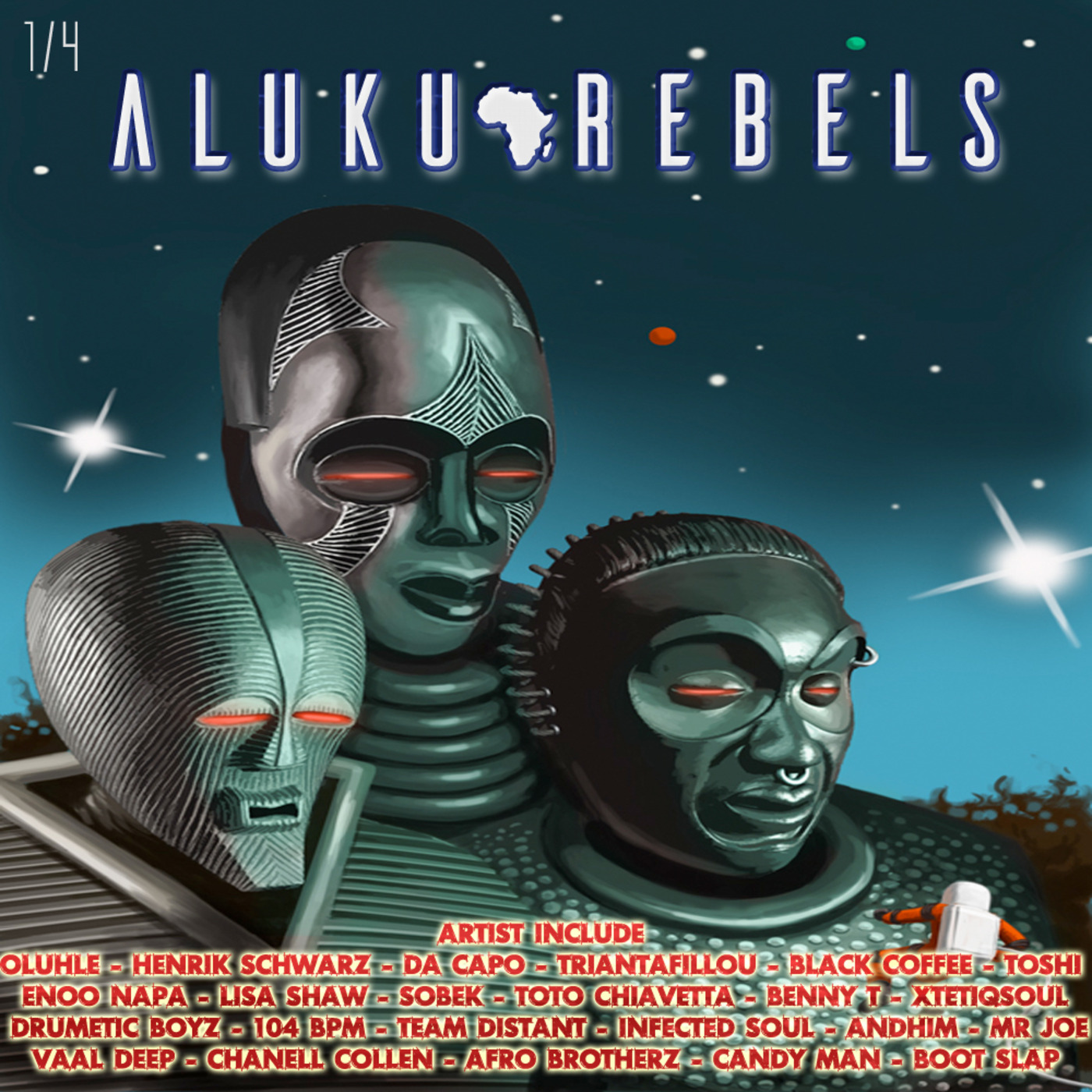 Mission To Planet Of Xamaba   By Aluku Rebels (Afro Tech