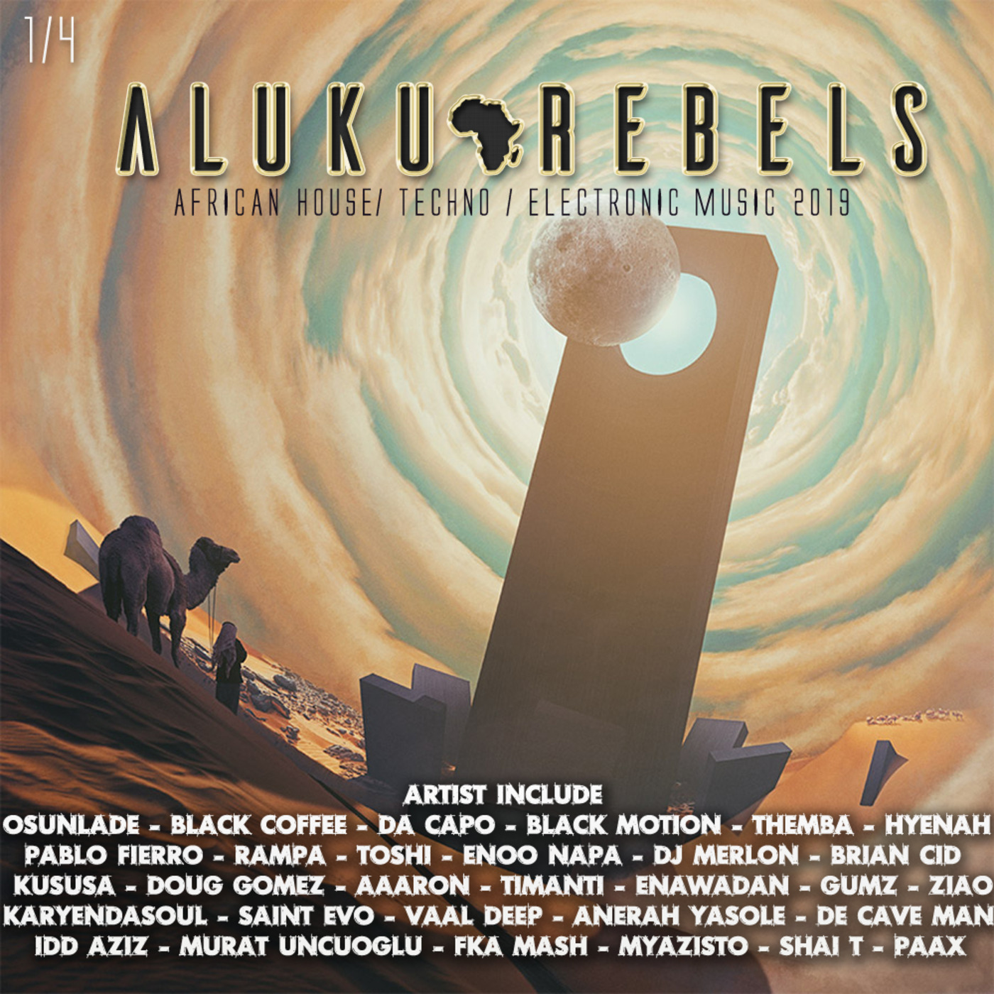 Stargate In Nubia  By Aluku Rebels (Afro House/Techno/Deep