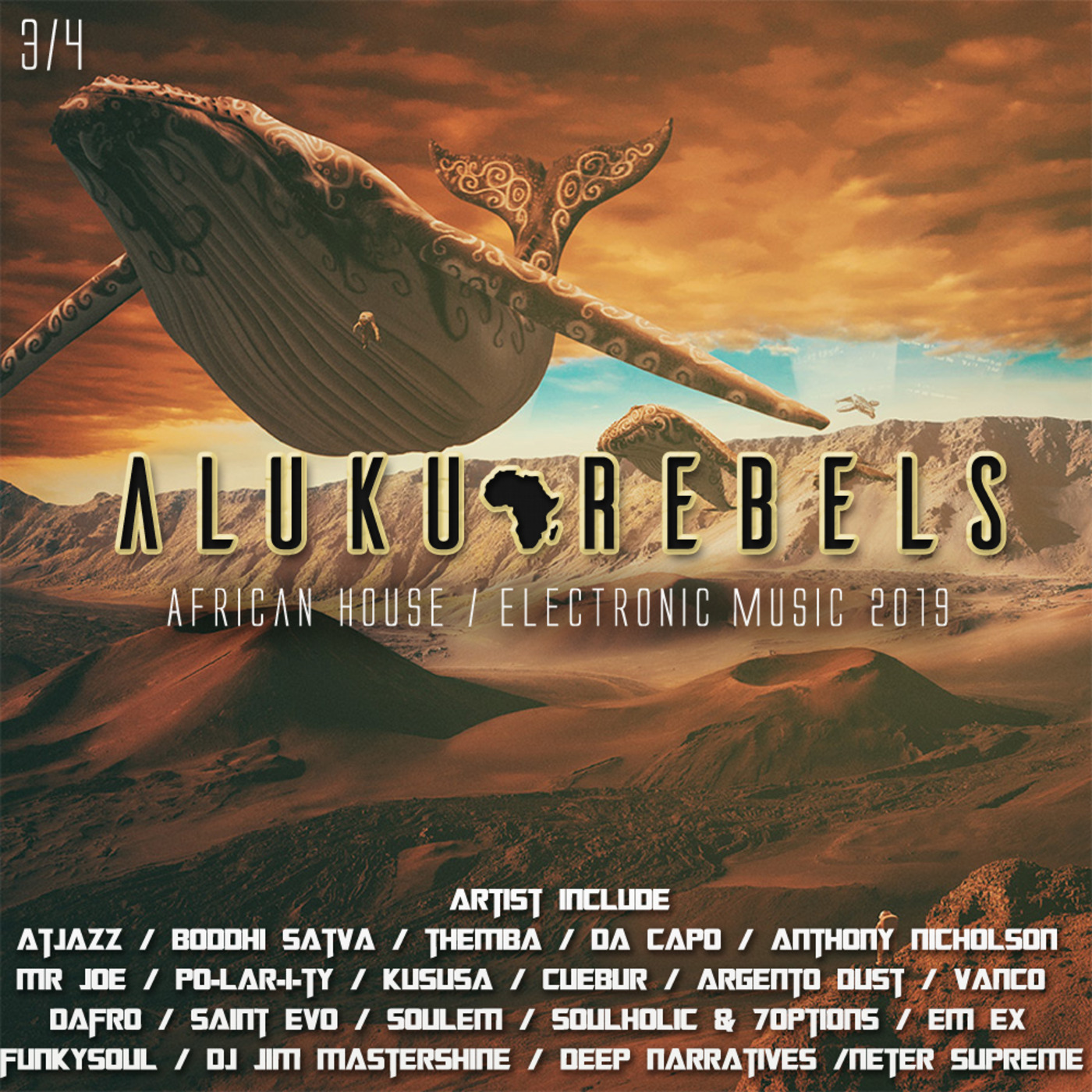 Aluku Rebels/Records (African Deep/Electronic House Music) - MOON FM