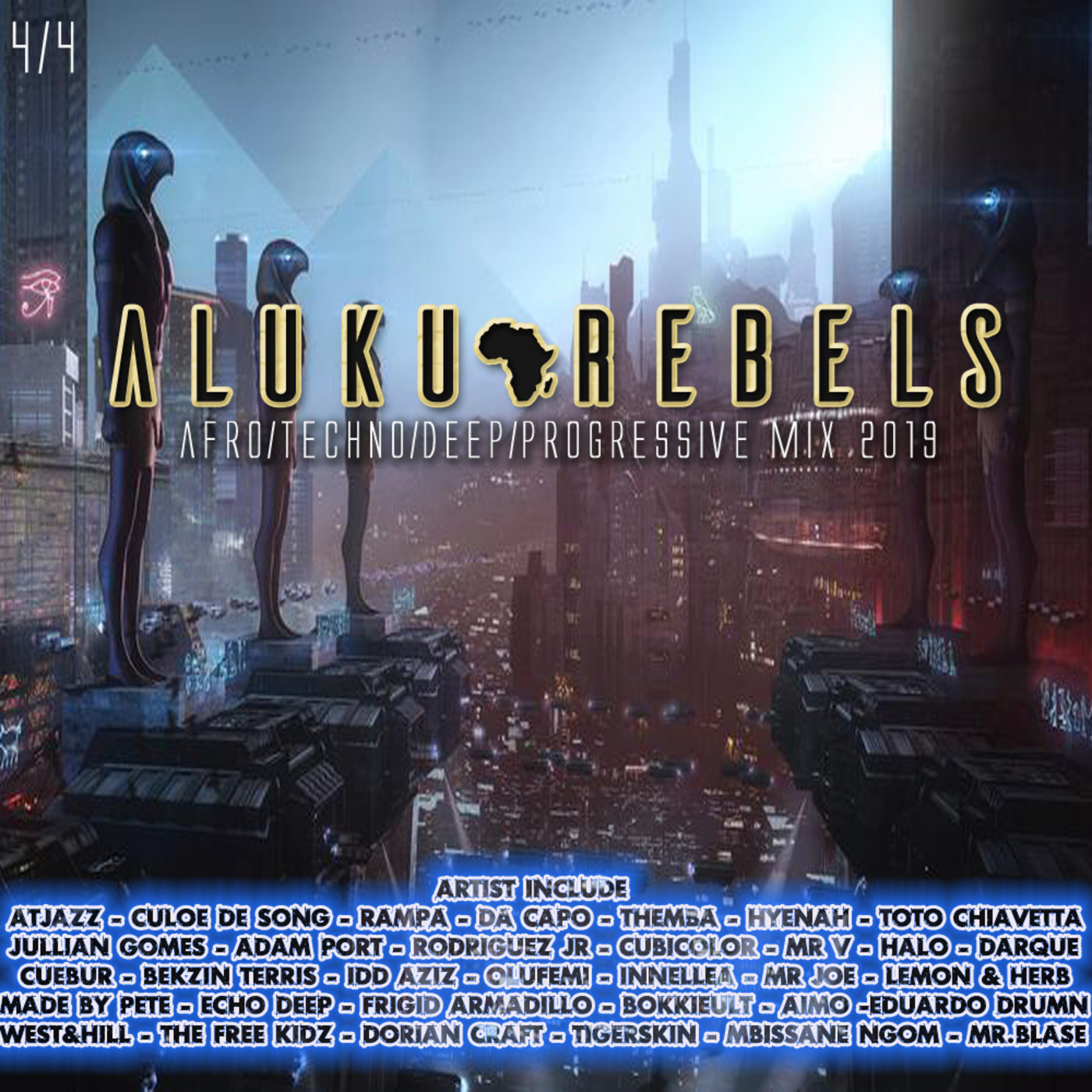 Origination Of Amun   By Aluku Rebels (Afro/Techno