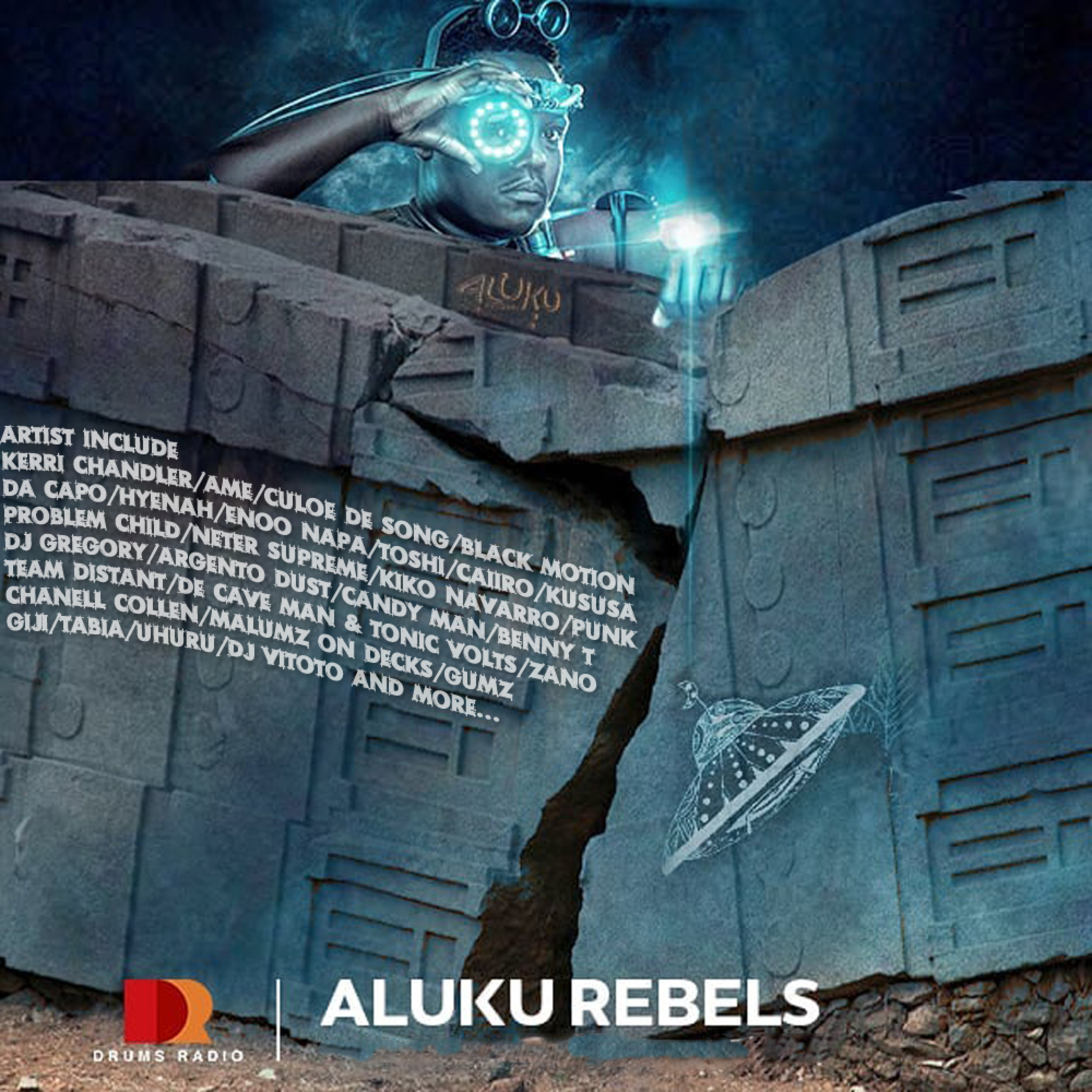 Aluku Rebels Drums Radio NYD Guest Mix 2019  (Afro/Deep