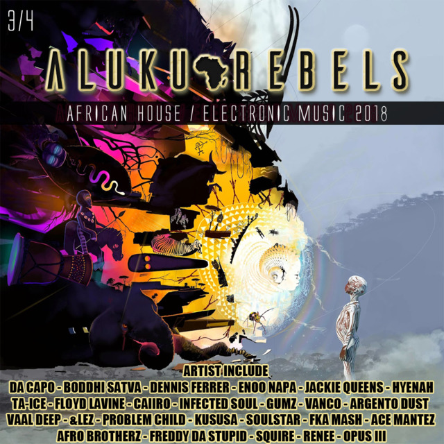 Descendent's of the 3rd Kind   By Aluku Rebels (Afro Tech/Deep