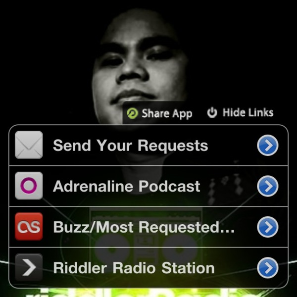 ADRENALINE 52 DJ RIDDLER