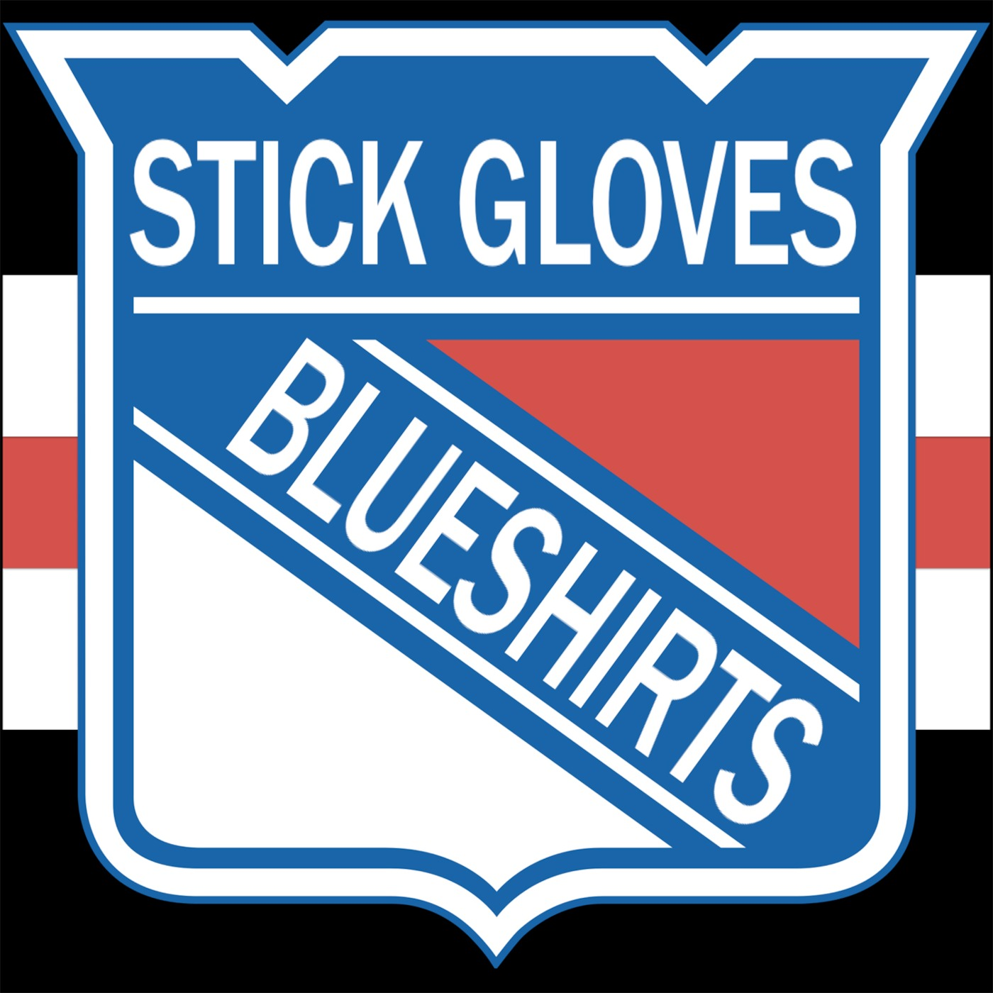 Stick Gloves Blueshirts