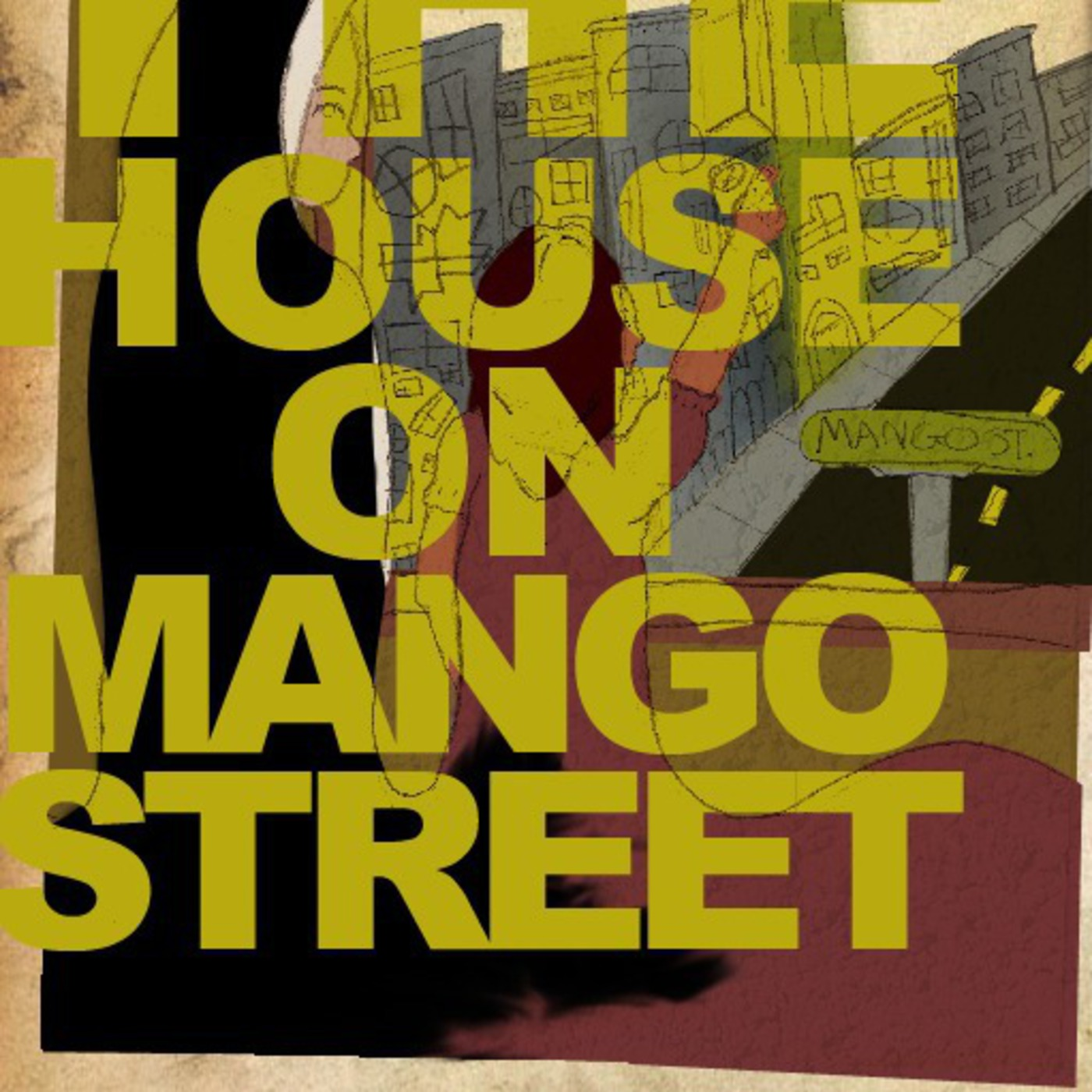 the house on mango street But the house on mango street is not the way they told it at all it's small and red with tight steps in front and window so small you'd th ink.