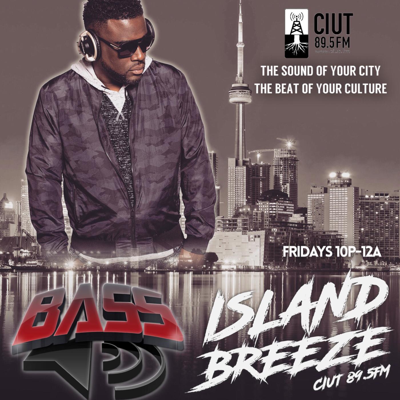 DJ BASS LIVE - Island Breeze 89 5fm Island Breeze With DJ
