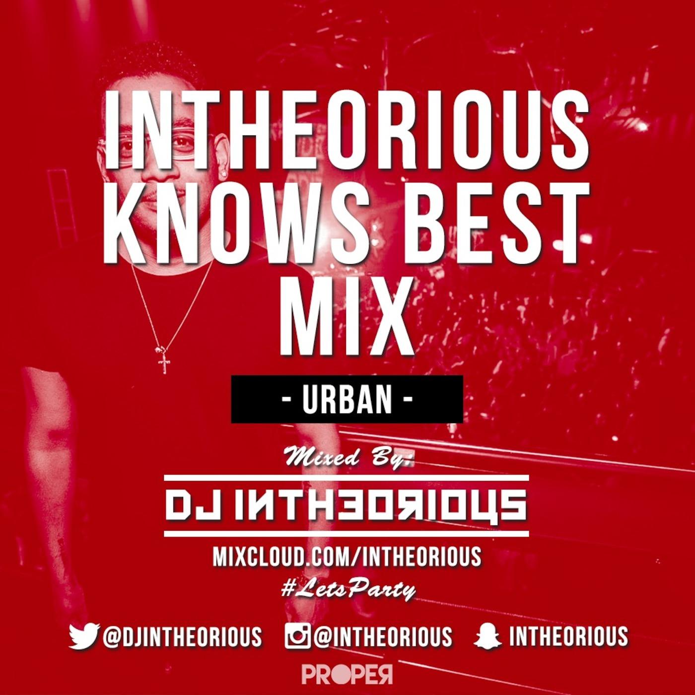 DJ Intheorious' Mixes Podcast - PodPalace