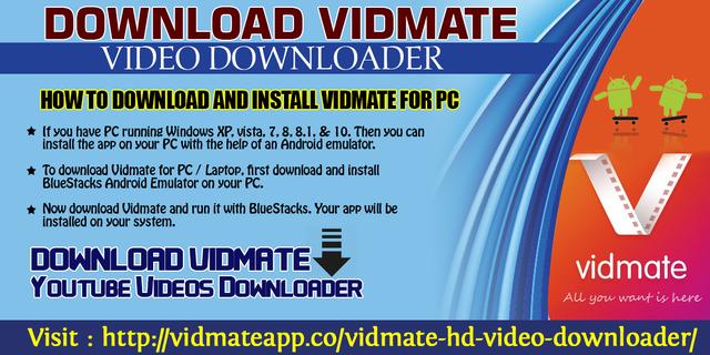 Download Vidmate Video Downloader
