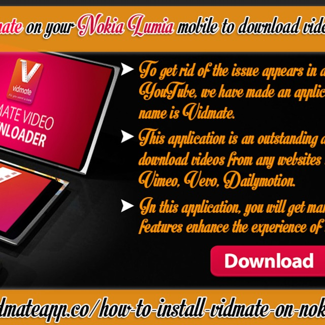 How to install vidmate on your nokia lumia mobile to download videos how to install vidmate on your nokia lumia mobile to download videos from youtube ccuart Image collections