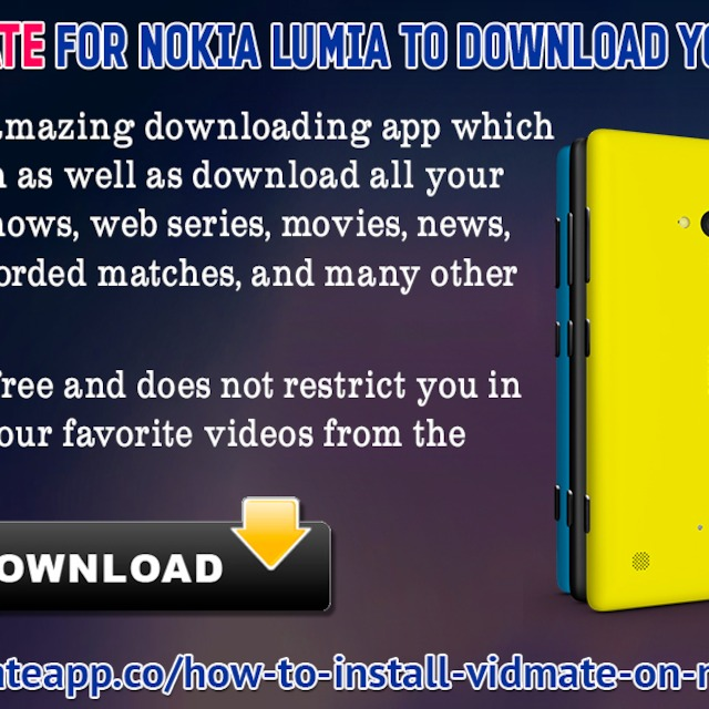 Install vidmate for nokia lumia to download youtube videos ccuart Image collections
