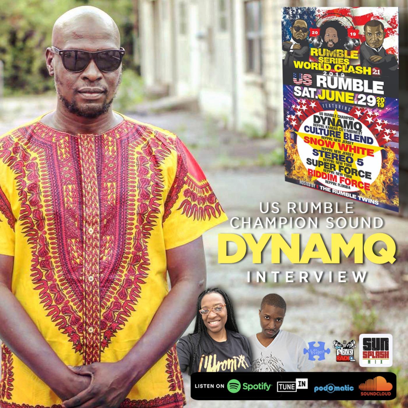 US Rumble Champion Dynamq Update Sunsplash Mix With Jah Prince