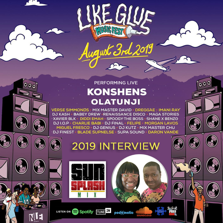 2019 Like Glue Fest Sunsplash Mix With Jah Prince & Selecta