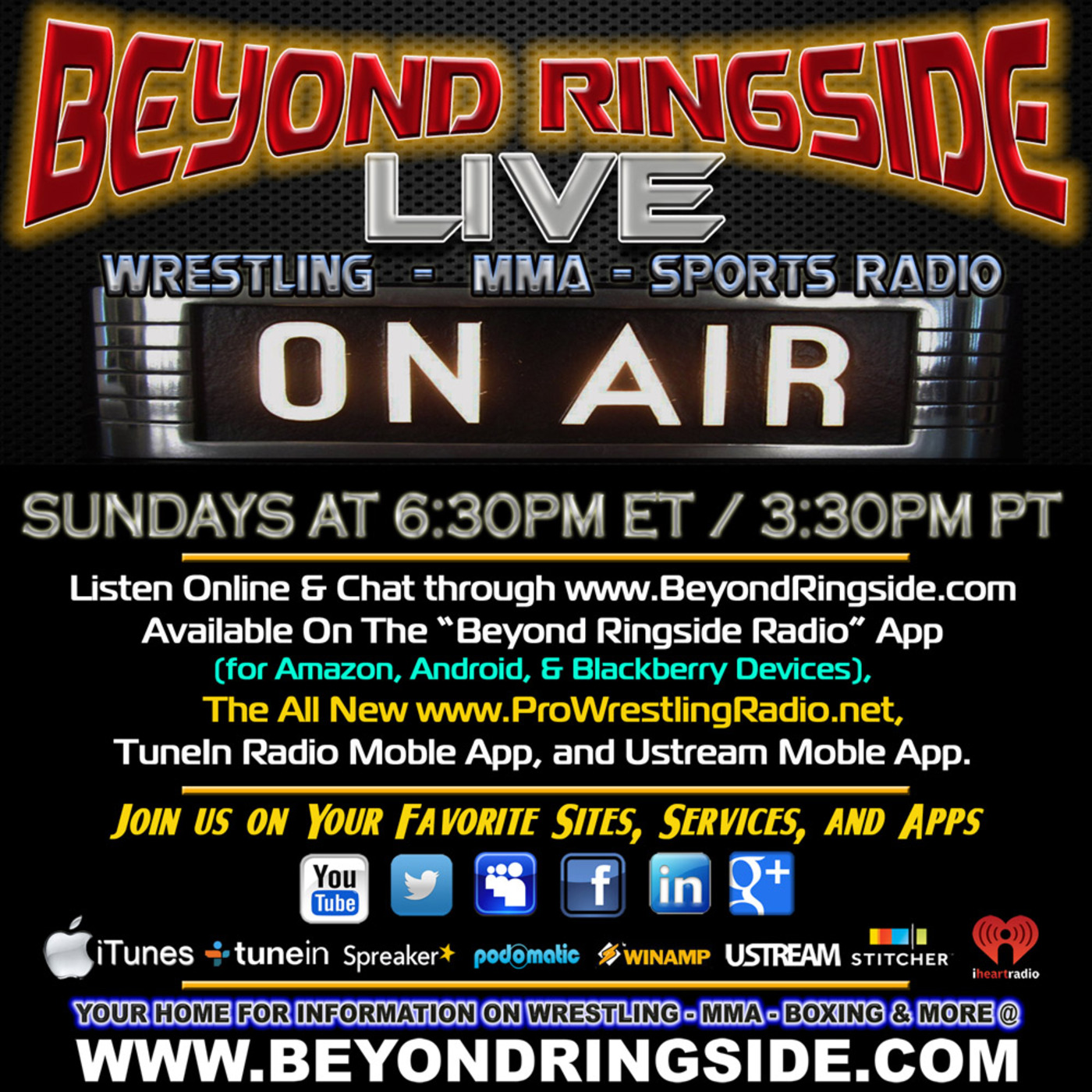 Beyond Ringside Live - August 4, 2019 Beyond Ringside podcast