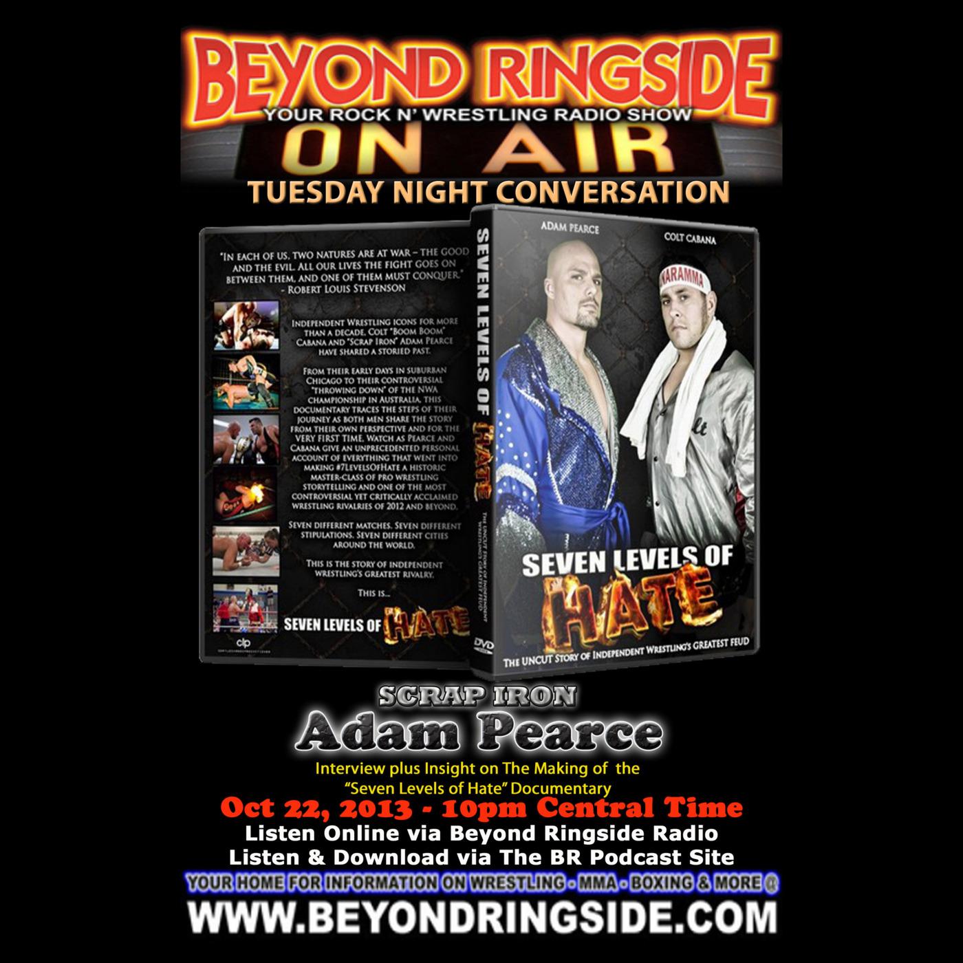 Beyond Ringside Podcast - Episode 266 - Adam Pearce / Seven