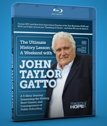 """john taylor gatto thesis """"against school"""" is an argumentative essay that tells about how the public education system incapacitates the children of today it was written by john taylor gatto."""