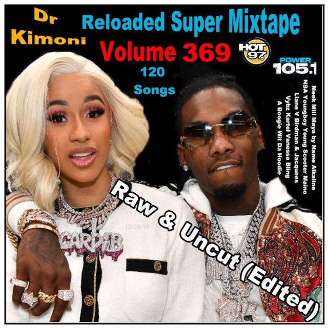 Dr Kimoni JUST RnB HiP HoP Reloaded Volume 369 12-29-2018