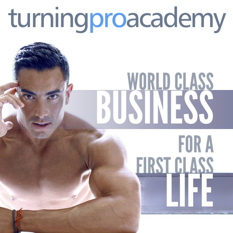 Turning Pro Academy Podcast