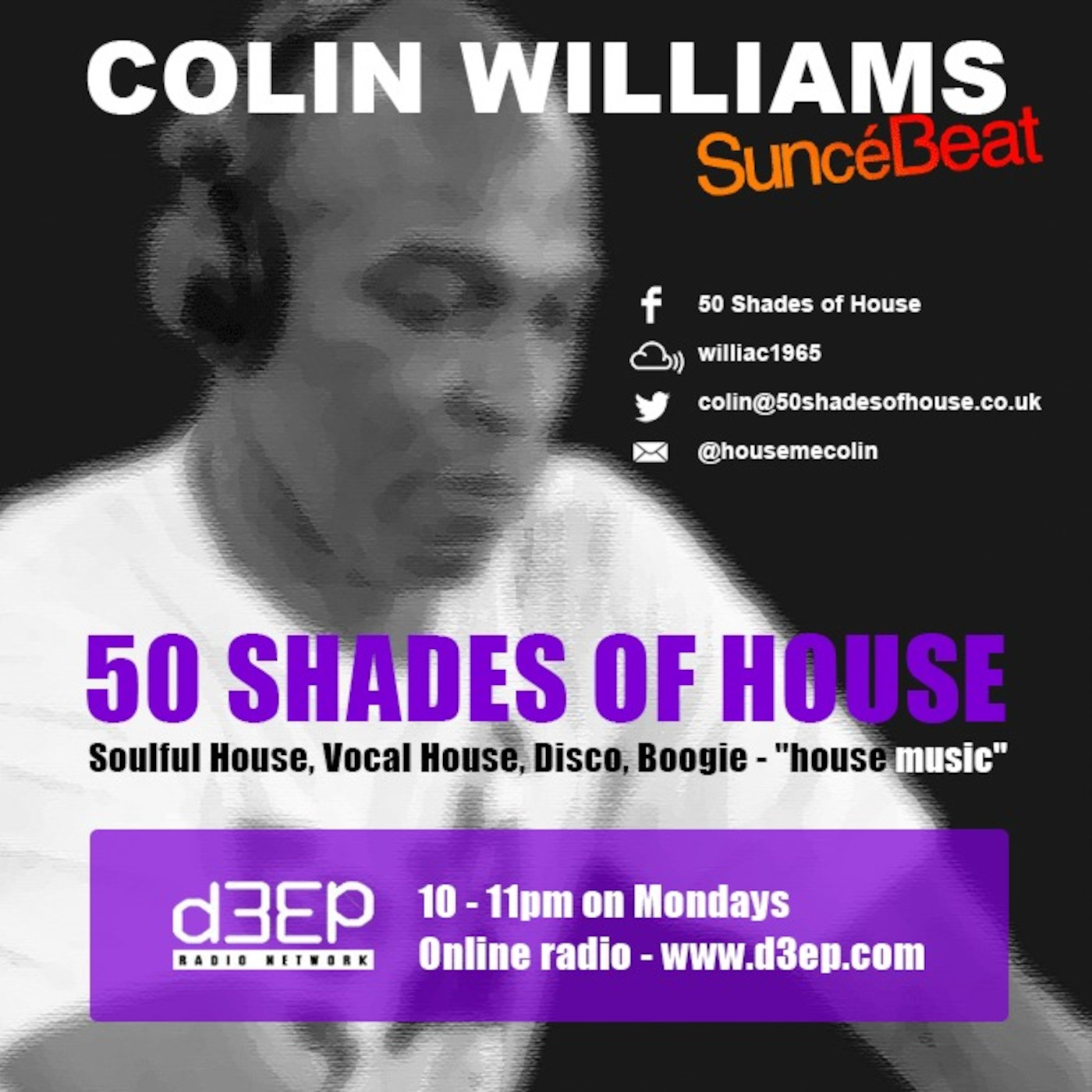 141116 Colin W 50 Shades Of Soulfiul House On Www d3ep com
