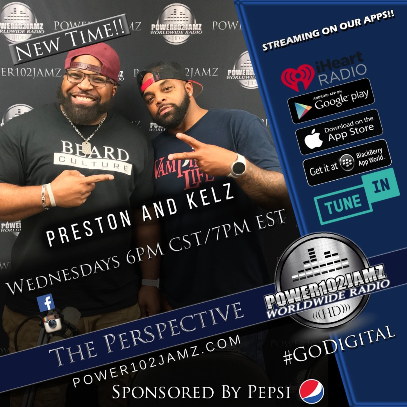 The Perspective Live Broadcast! #17 Power102Jamz podcast