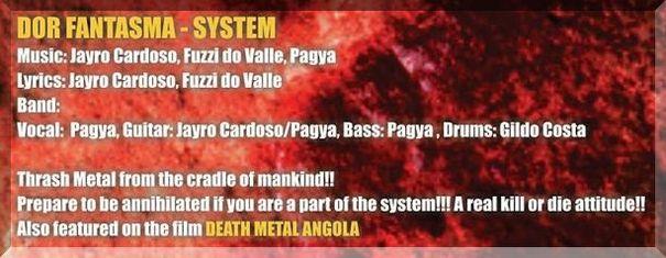 System - DOR FANTASMA | CUBE RECORDS Angola 2014
