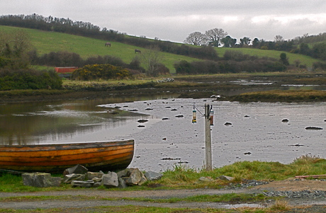 Sea inlet at Bishop's Mill, near Portaferry, Co. Down  [Photo: RMcC]