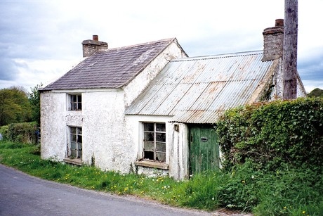 Patrick's mother, Alice McClory's house, near Rathfriland, Co. Down  [Photo: RMcC]