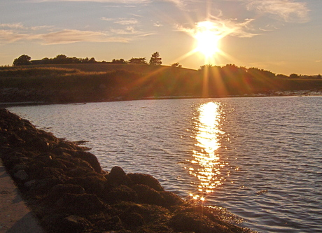 Sunset over Strangford Lough, near Comber, Co. Down  [Photo: RMcC]