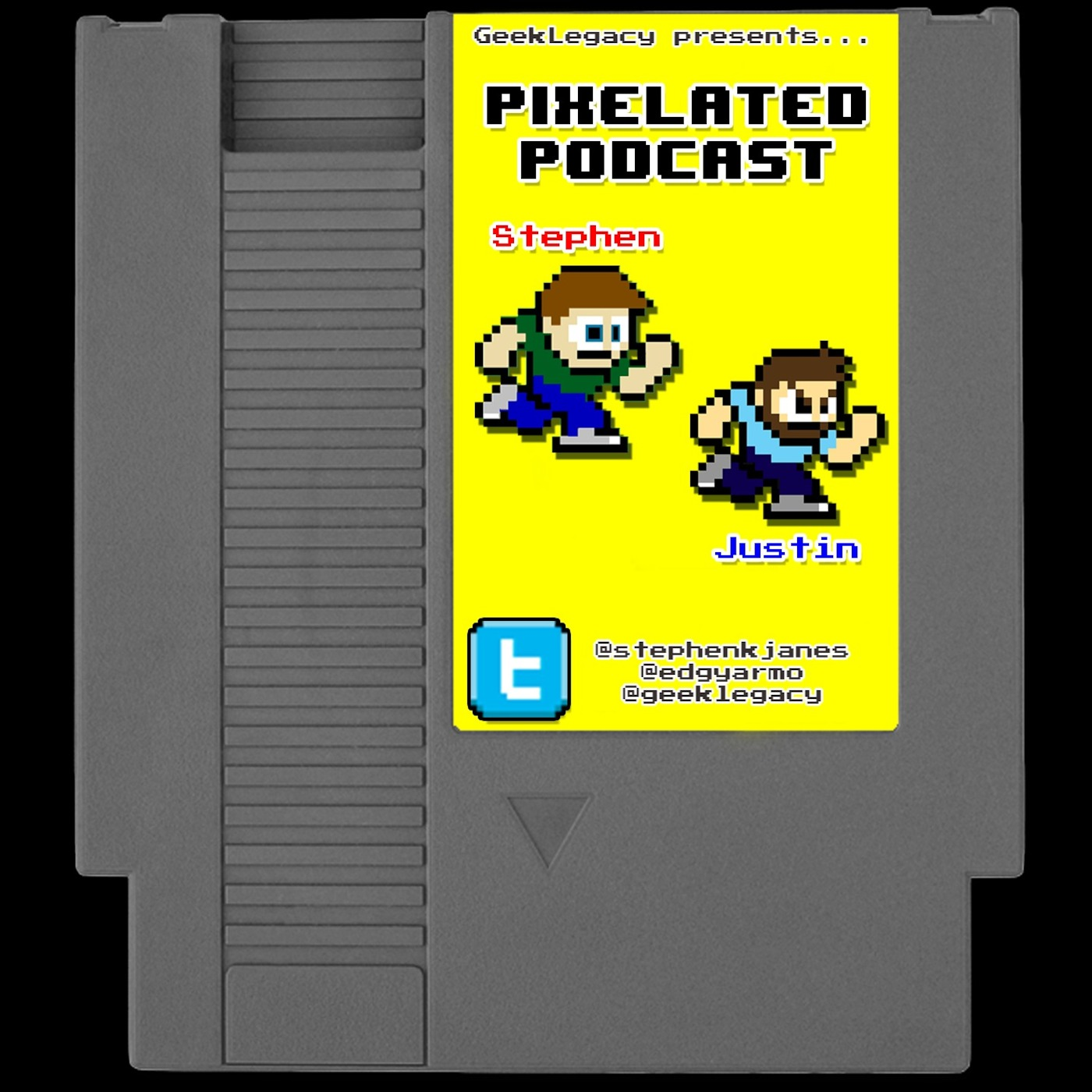 Geek Legacy's Pixelated Podcast