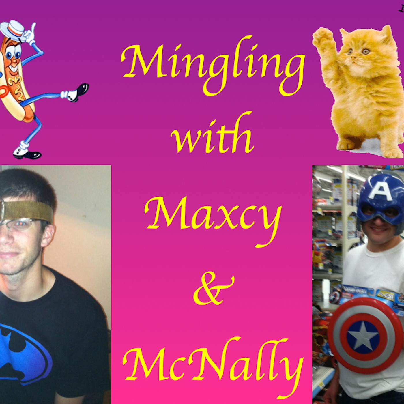 Mingling with Maxcy and McNally