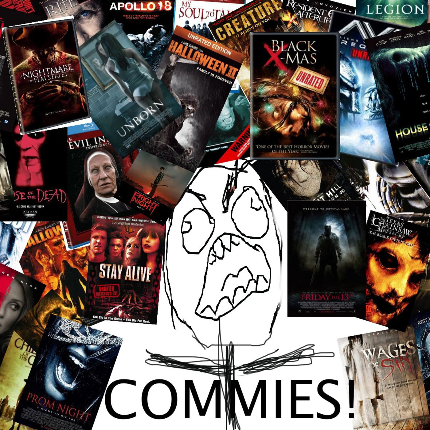 Commies: A Podcast commentary for Horror DVD's