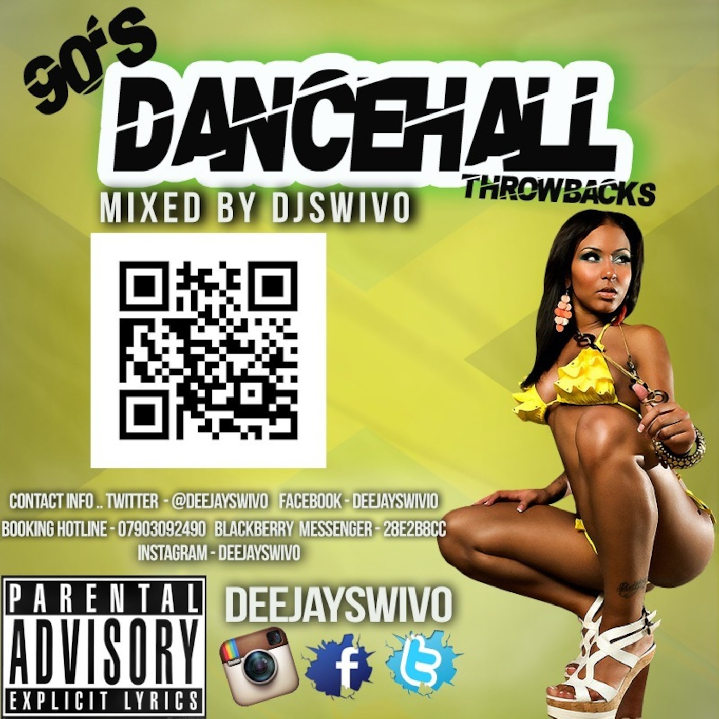 Dj Swivo 90s Dancehall Throwback Mix Cd 2013