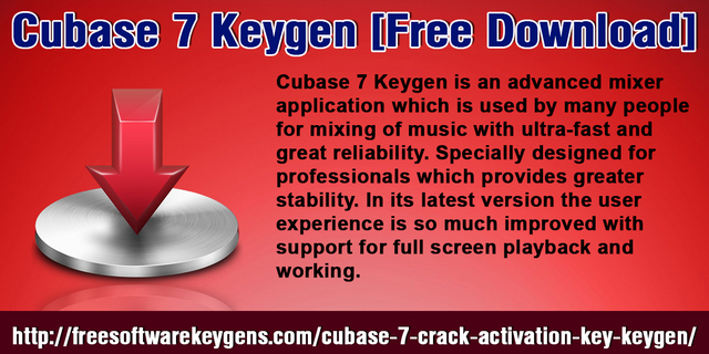 cubase 7 activation code free download
