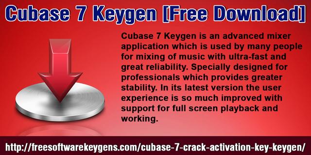 cubase 7 pro download