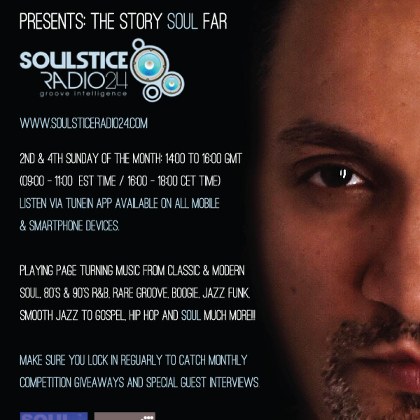 Rich Beggar presents The Story SOUL Far (Sunday 22 12 13