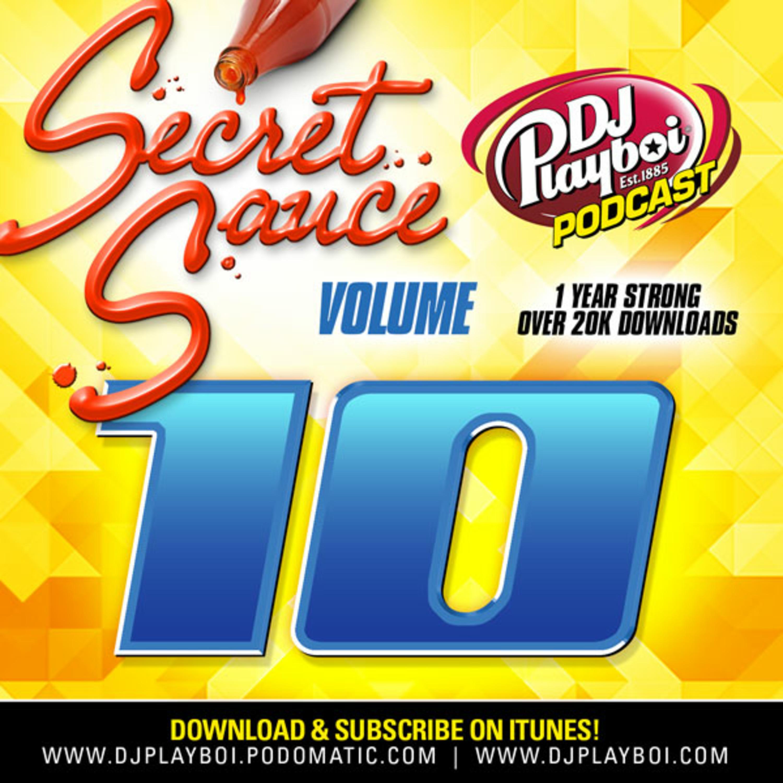 SECRET SAUCE 10 DJ PLAYBOI PODCAST | HIPHOP - TRAP - HOUSE