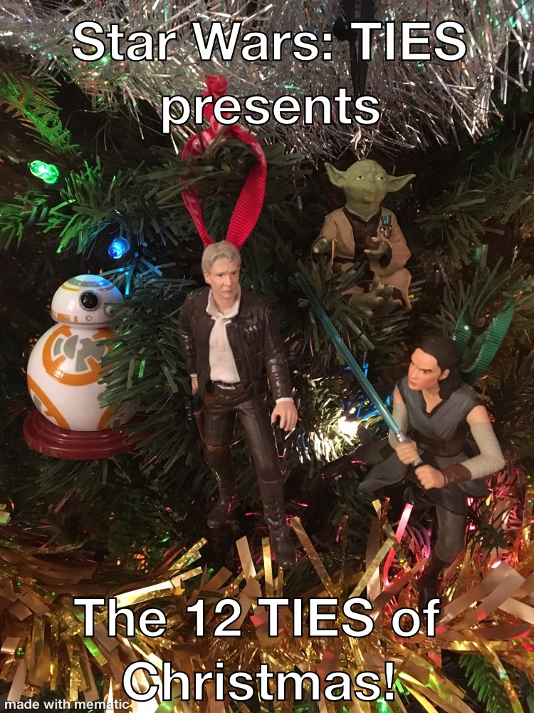 Episode 19-Holiday TIES Day 2--Heros, Villians, ET, And Kermit The