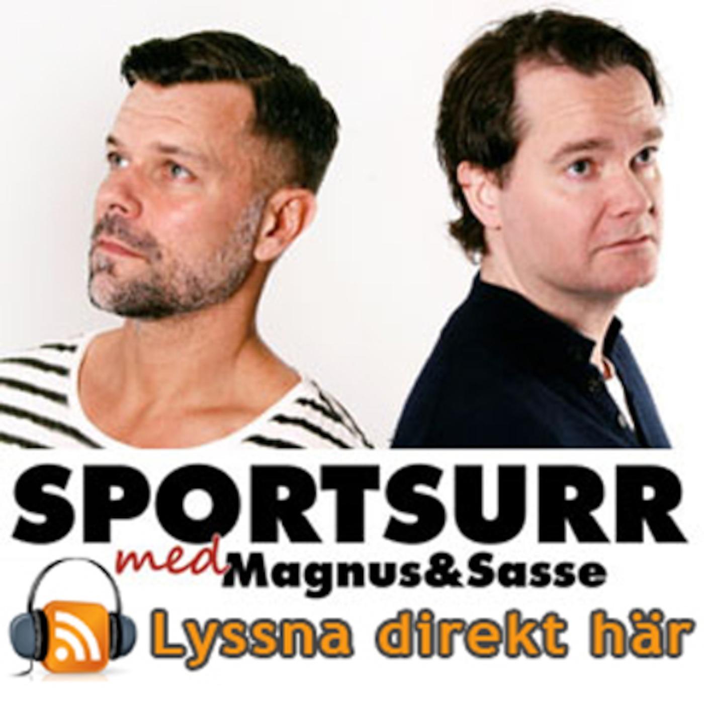 Sportsurr med Magnus och Sasse