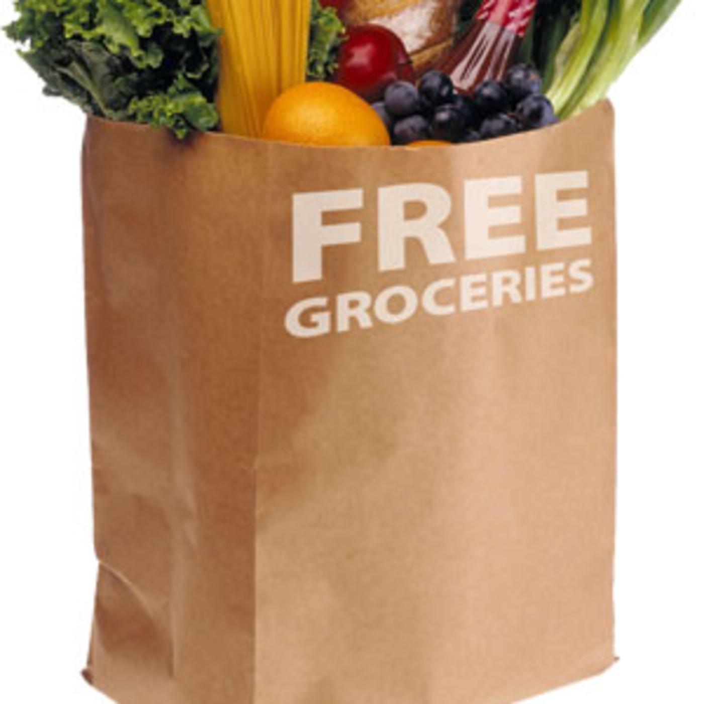 Free Groceries & Gasoline