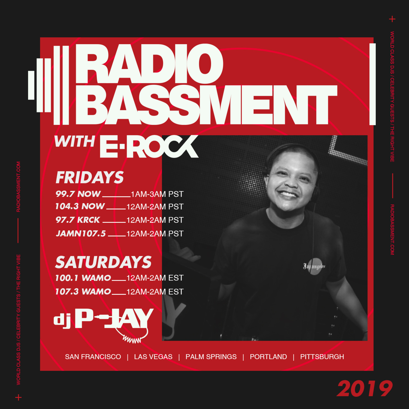 The Bassment W/ DJ P-Jay 07 05 19 The Bassment W/ DJ E-Rock